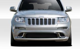 2011-2013 Jeep Grand Cherokee Duraflex SRT Look Front Bumper Cover - 1 Piece