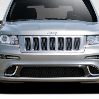 2011-2013 Jeep Grand Cherokee Duraflex SRT Look Front Bumper Cover - 1 Piece