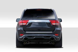 2011-2015 Jeep Grand Cherokee Duraflex SRT Look Rear Bumper Cover - 1 Piece