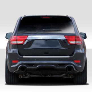 2011-2015 Jeep Grand Cherokee Duraflex SRT Look Rear Bumper Cover - 1 Piece