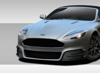 2004-2012 Aston Martin DB9 DBS Eros Version 1 Front Bumper Cover - 1 Piece
