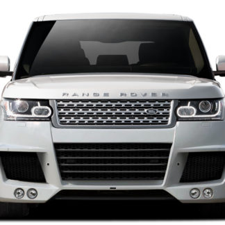 2013-2015 Land Rover Range Rover Urethane AF-1 Wide Body Front Bumper Cover ( PUR-RIM ) - 1 Piece