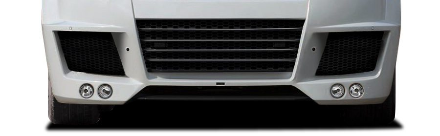 2013-2015 Land Rover Range Rover AF-1 Wide Body Front Diffuser ( GFK ) - 1 Piece
