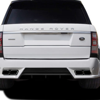 2013-2015 Land Rover Range Rover Urethane AF-1 Wide Body Rear Bumper Cover ( PUR-RIM ) - 1 Piece