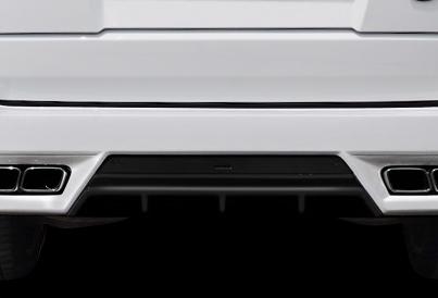 2013-2015 Land Rover Range Rover AF-1 Wide Body Rear Diffuser ( GFK ) - 1 Piece