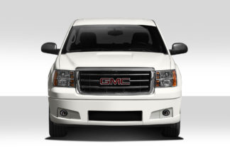 2007-2013 GMC Sierra Duraflex BT-1 Front Bumper Cover - 1 Piece ( lower cover only)