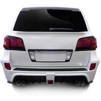 2008-2015 Lexus LX570 AF-1 Wide Body Rear Bumper Cover ( GFK ) - 1 Piece (Overstock)
