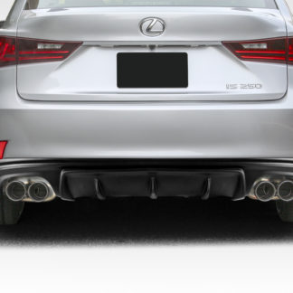 2014-2015 Lexus IS Series IS350 IS250 Duraflex AM Design Style Rear Diffuser - 1 Piece ( F Sport Models only)