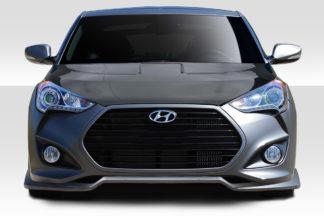 2012-2017 Hyundai Veloster Turbo Duraflex N Design Front Lip Spoiler - 1 Piece