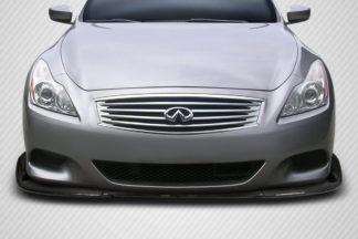 2008-2015 Infiniti G Coupe G37 Q60 Carbon Creations Chronos Front Lip Spoiler - 1 Piece