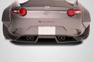 2016-2019 Mazda Miata Carbon Creations Circuit Rear Diffuser - 1 Piece