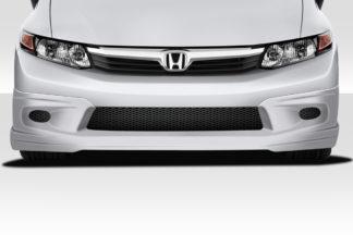 2012-2012 Honda Civic 4DR Duraflex Type M Front Lip Spoiler - 1 Piece