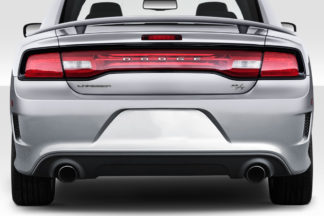 2011-2014 Dodge Charger Duraflex Hellcat Look Rear Bumper - 1 Piece