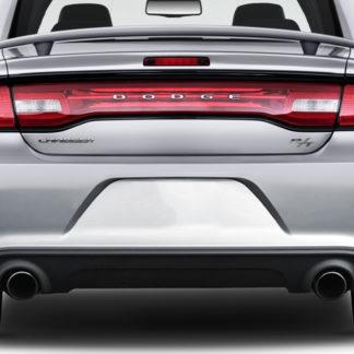 2011-2014 Dodge Charger Duraflex Hellcat Look Rear Bumper - 1 Piece