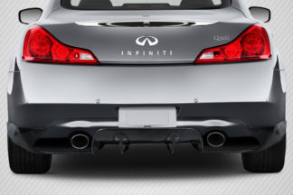 2008-2015 Infiniti G Coupe G37 Q60 Carbon Creations LBW Rear Diffuser - 3 Piece