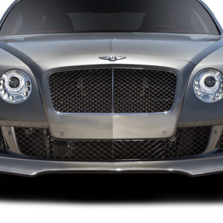 2012-2015 Bentley Continental GT Coupe AF-1 Front Spoiler - 1 Piece ( GFK )