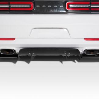 2015-2019 Dodge Challenger Duraflex Circuit Rear Diffuser - 3 Piece
