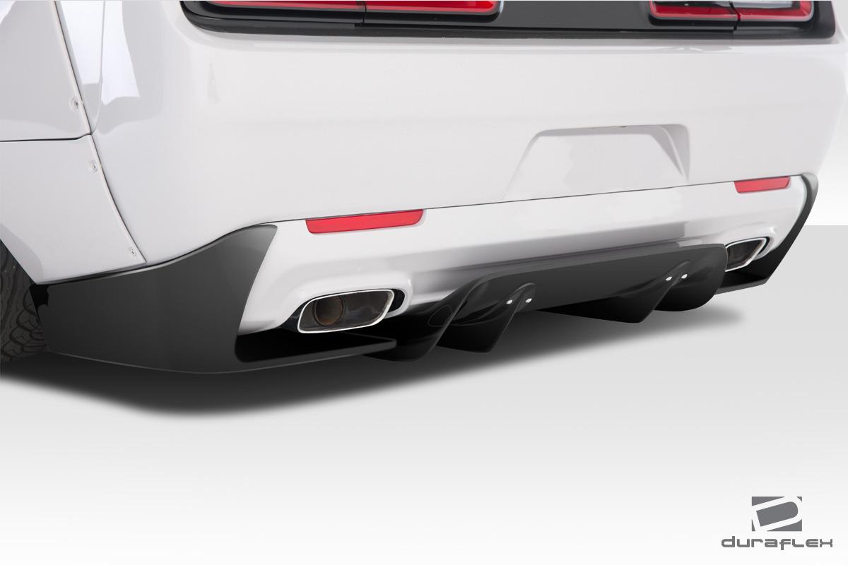 Challenger Rear Diffuser Kit 5 Piece Set V3 2015-2020
