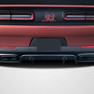 2015-2019 Dodge Challenger Carbon Creations Circuit Rear Diffuser - 3 Piece