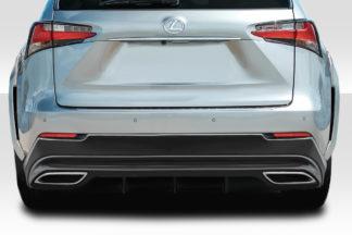 2015-2019 Lexus NX Series NX200T NX300H Duraflex Addax Rear Lip Spoiler - 1 Piece ( F-Sport models only)
