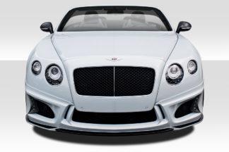 2011-2016 Bentley Continental GT Duraflex Eros Version 1 Front Lip Spoiler - 3 Piece