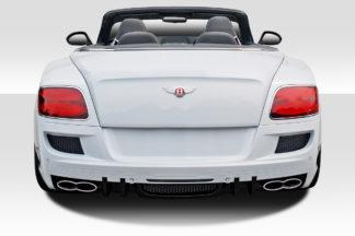 2011-2016 Bentley Continental GT Duraflex Eros Version 1 Rear Bumper - 1 Piece