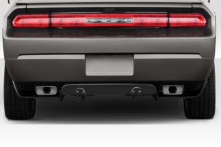 2008-2014 Dodge Challenger Duraflex Circuit Rear Diffuser - 3 Piece