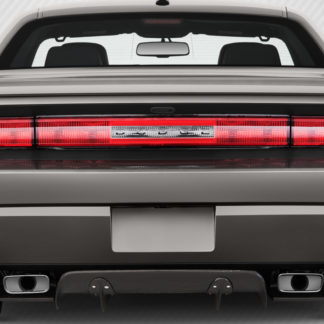 2008-2014 Dodge Challenger Carbon Creations Circuit Rear Diffuser - 3 Piece