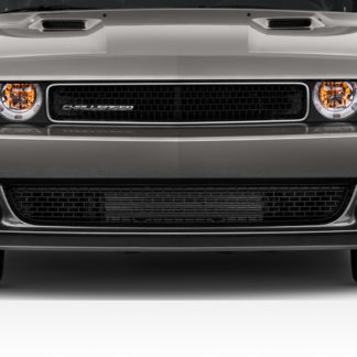 2008-2014 Dodge Challenger Duraflex Hellcat Look Front Bumper - 1 Piece