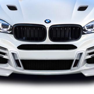 2015-2019 BMW X6 F16 / X6M F86 AF-1 Front Bumper ( PU-RIM ) - 7 Piece