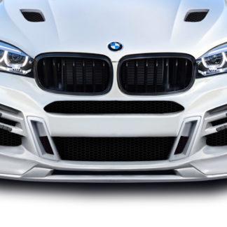 2015-2019 BMW X6 F16 / X6M F86 AF-1 Front Lip Splitter ( GFK ) - 1 Piece