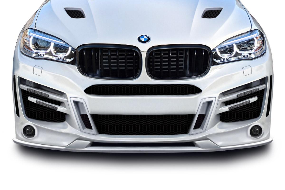 BMW X6 F16 front Skirts Valances Front Splitter Spoiler