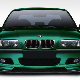 1999-2006 BMW 3 Series E46 Duraflex HM-S Front Lip Splitter - 1 Piece ( fits M-Tech models only )