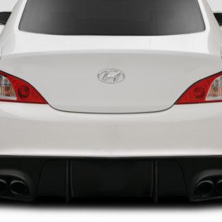 2010-2016 Hyundai Genesis Duraflex Speedster Rear Diffuser - 1 Piece