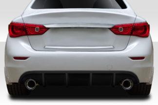 2014-2017 Infiniti Q50 Duraflex VIP Rear Diffuser - 1 Piece