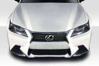 2013-2015 Lexus GS F Sport Duraflex X-5 Front Splitter - 2 Piece