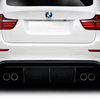 2008-2014 BMW X6M E71 E72 Duraflex AK-M Rear Diffuser - 1 Piece