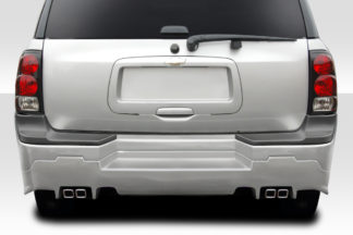 2002-2008 Chevrolet Trailblazer Duraflex R34 Rear Bumper - 1 Piece