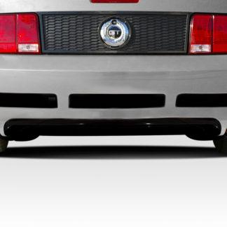 2005-2009 Ford Mustang Duraflex Blits Rear Bumper - 1 Piece
