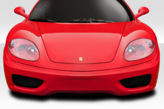 1999-2004 Ferrari 360 Modena Duraflex Challenge Look Front Bumper Cover - 1 Piece