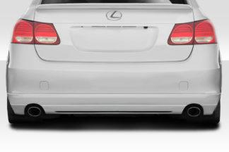 2006-2007 Lexus GS Series GS300 GS350 GS430 GS450 GS460 Duraflex JPR Rear Lip Under Spoiler Air Dam - 1 Piece
