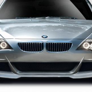 2004-2010 BMW 6 Series E63 E64 Convertible 2DR Duraflex LMS Front Bumper Cover - 1 Piece