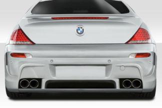 2004-2010 BMW 6 Series E63 E64 Convertible 2DR Duraflex LMS Rear Bumper Cover - 1 Piece