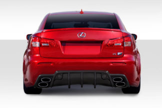 2008-2014 Lexus IS-F Duraflex W-1 Rear Bumper - 1 Piece