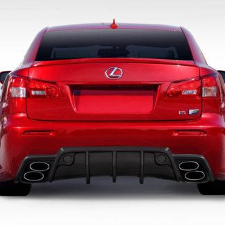 2008-2014 Lexus IS-F Duraflex W-1 Rear Bumper - 1 Piece