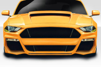 2018-2019 Ford Mustang Duraflex Grid Front Bumper Cover - 1 Piece
