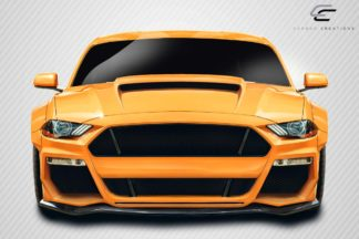 2018-2019 Ford Mustang Carbon Creations Grid Front Lip Under Spoiler - 1 Piece
