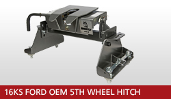 16KS Ford OEM 5th Wheel Hitch  Unit With OEM Gooseneck Prep Package 2008-2016 Ford F-250 Super Duty