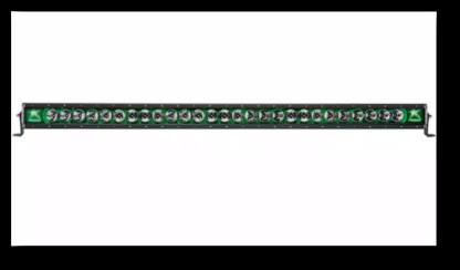 Rigid Radiance Light Bar - LED with Green Backlight