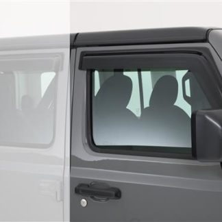 GT Styling Rainguard; Carbon Fiber Look; Set Of 2  | 2018 Jeep Wrangler JL | 2019 Jeep Wrangler